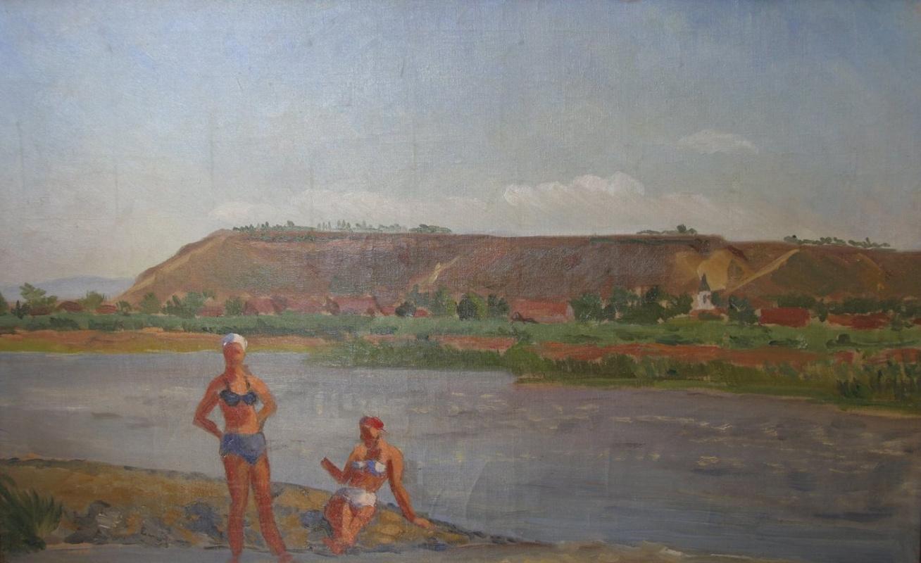 Мария Марковна Джагупова. Купальщицы