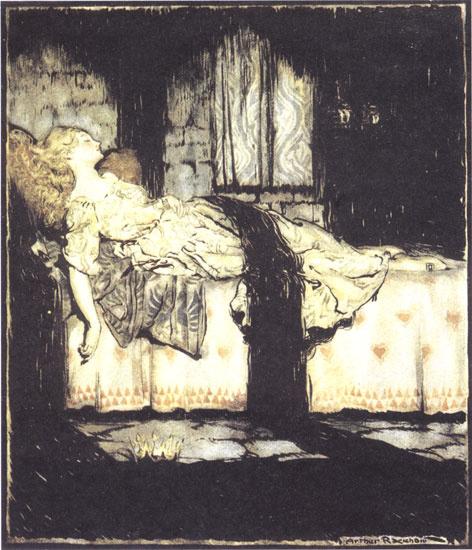 Артур Рэкхэм. Ночной сон