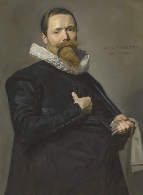 Франс Хальс. Портрет господина в возрасте 37 лет
