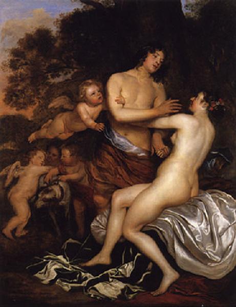 Ян Мейтенс. Венера и Адонис