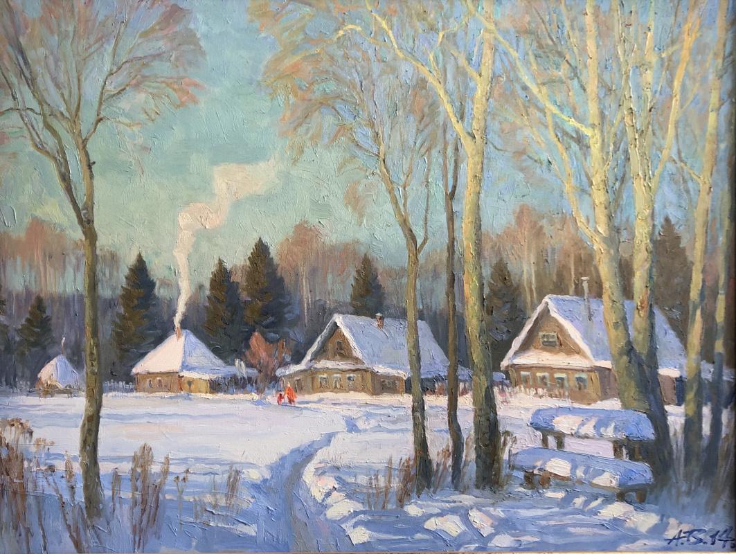 Alexander Ivanovich Vepricov. It's cold in winter