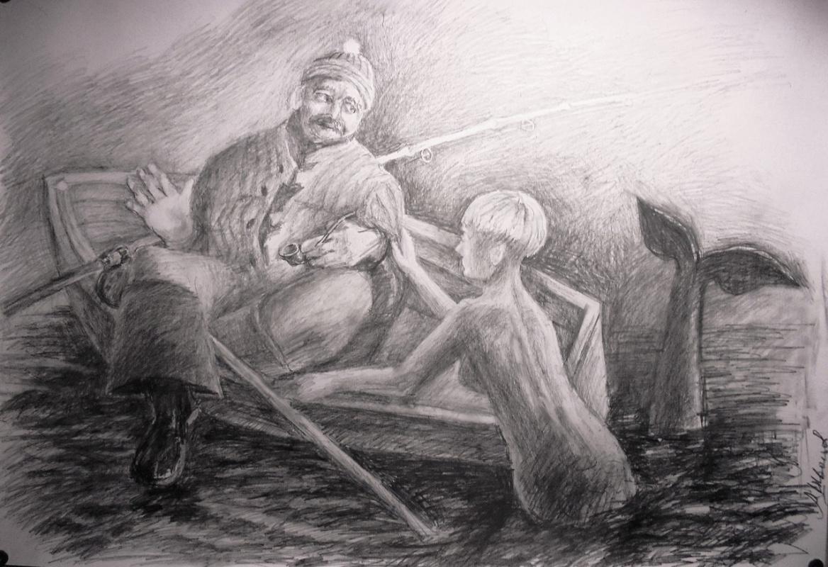 Александр Швецов. Рыбак и русалка