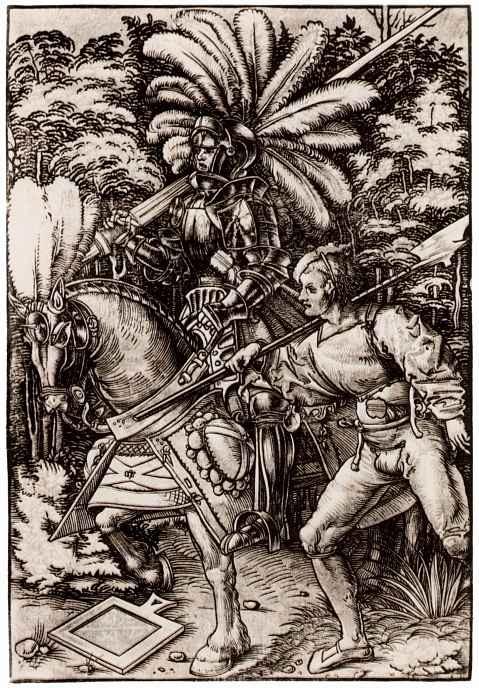 Ханс Вехтлин. Рыцарь и ландскнехт