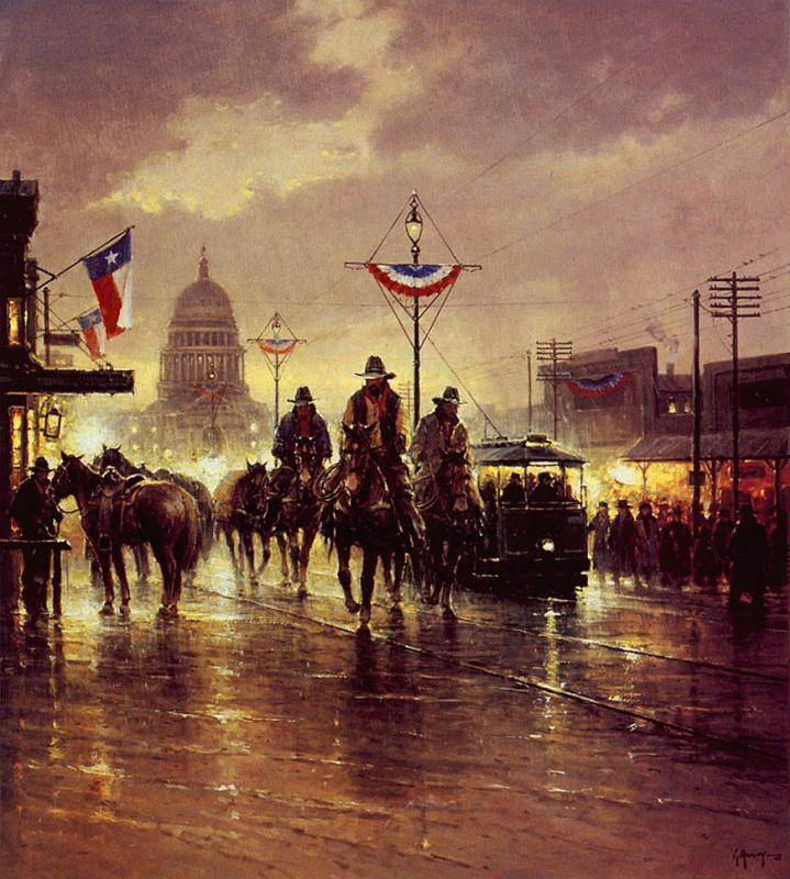 Джи Харви. Техас