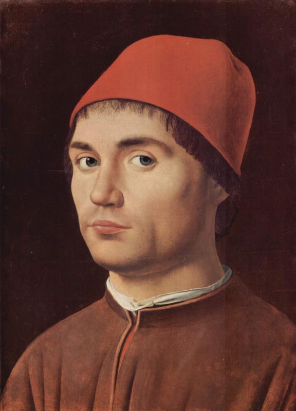 Антонелло да Мессина. Портрет мужчины