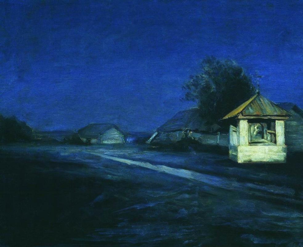 Arkhip Kuindzhi. Night landscape