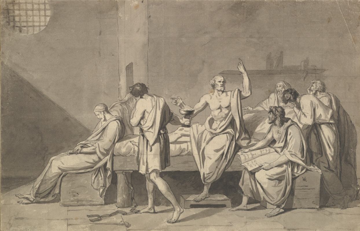 Jacques-Louis David. The Death Of Socrates