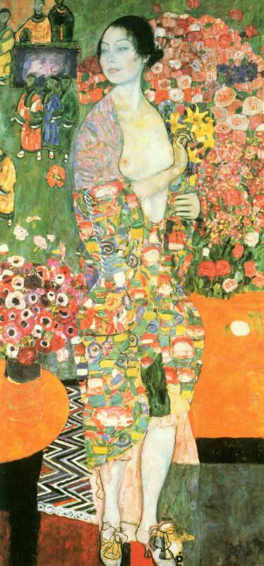 Густав Климт. Танцовщица (ранее Риа Мунк II)