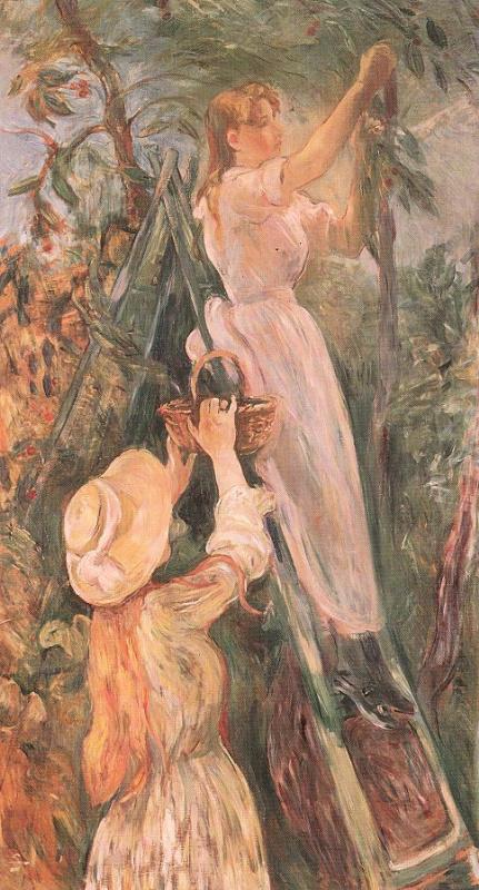 Berthe Morisot. Cherry tree