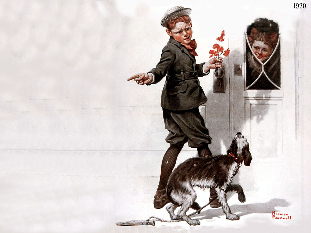 Norman Rockwell. He is?