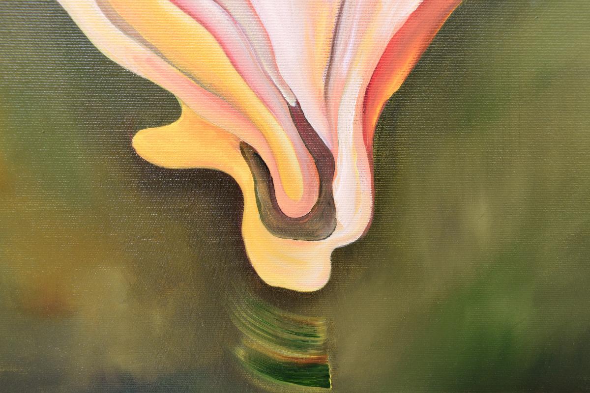 Wings of wind-2, original oil painting