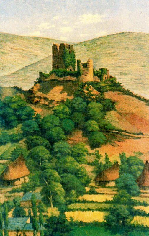 Альварес Арместо. Замок