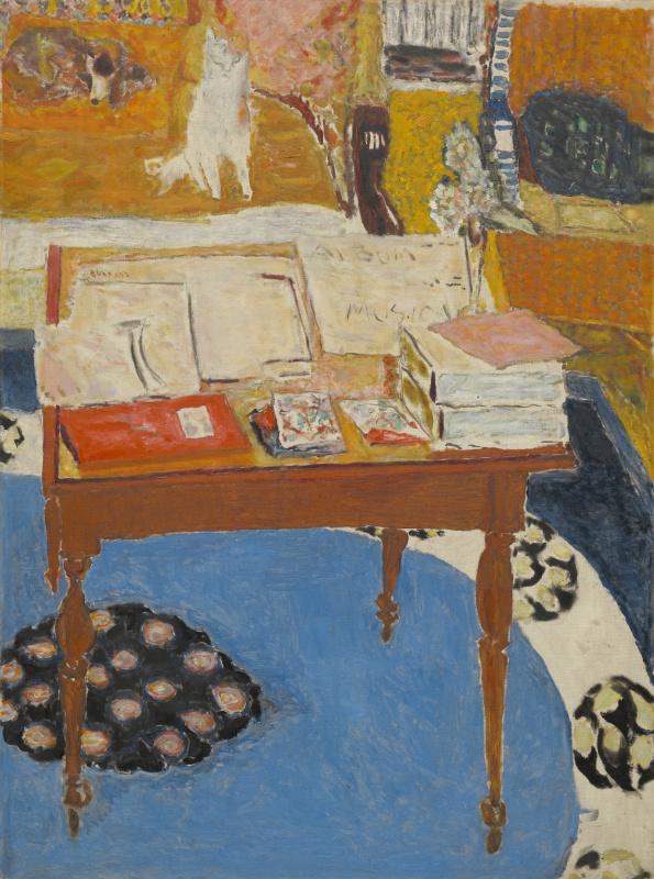 Пьер Боннар. Рабочий стол