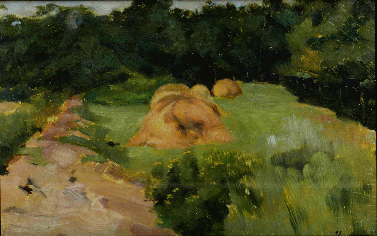 Eugene Iosifovich Bukovetsky. Summer Landscape