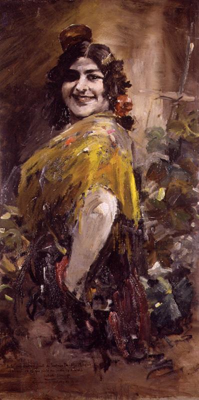 Франсиско Доминго Маркиз. Андалузская женщина