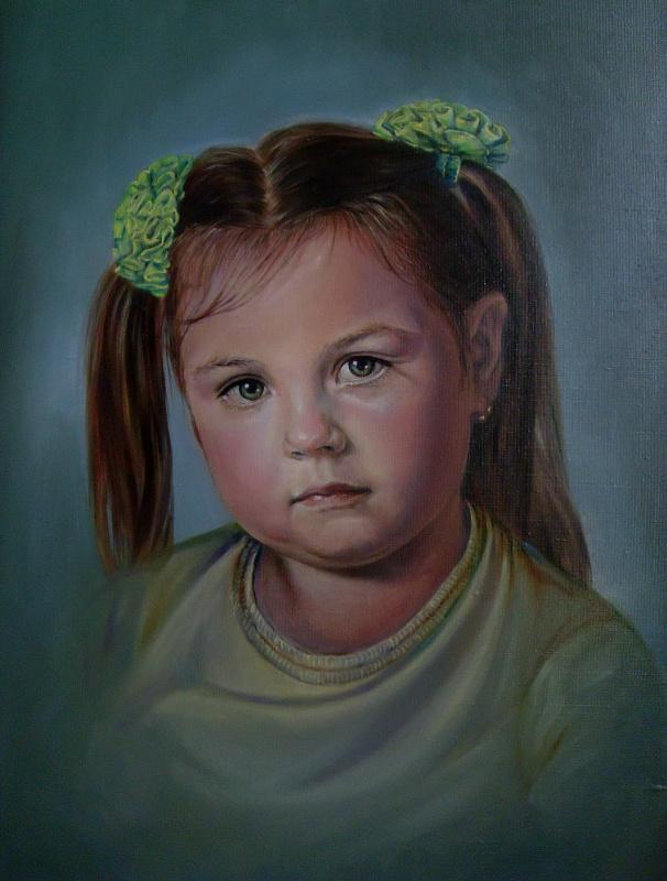 Леся Белза. Портрет девочки
