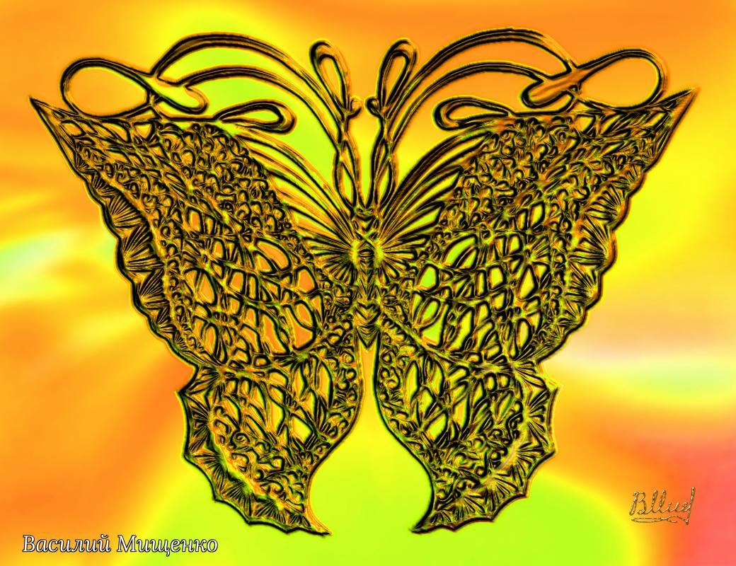 Vasiliy Mishchenko. Butterfly 0102