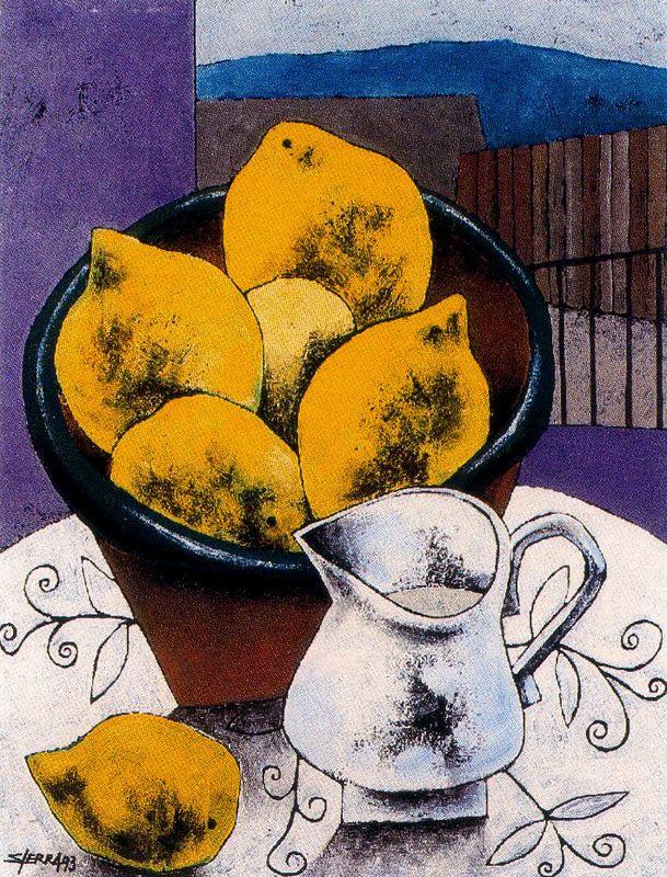 Мануэль Сьерра. Лимоны на столе