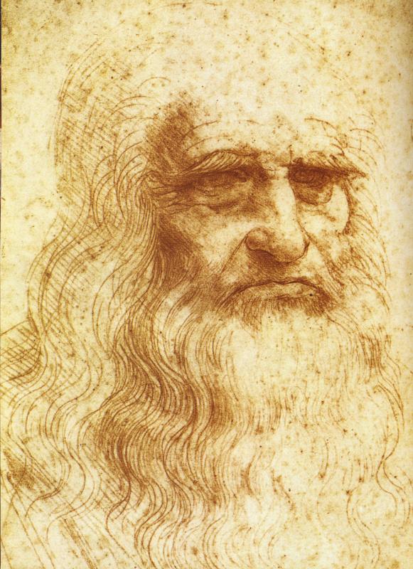 Леонардо да Винчи. Туринский автопортрет