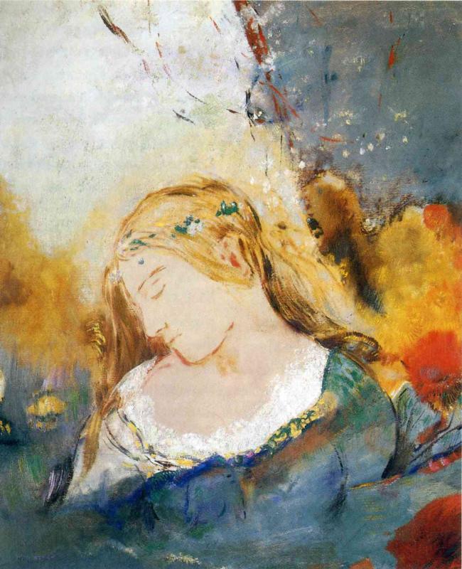 Odilon Redon. Ophelia