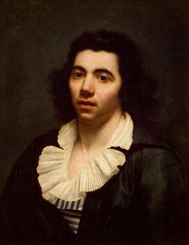 Anne-Louis Girode de Russi-Triosone. Self-portrait