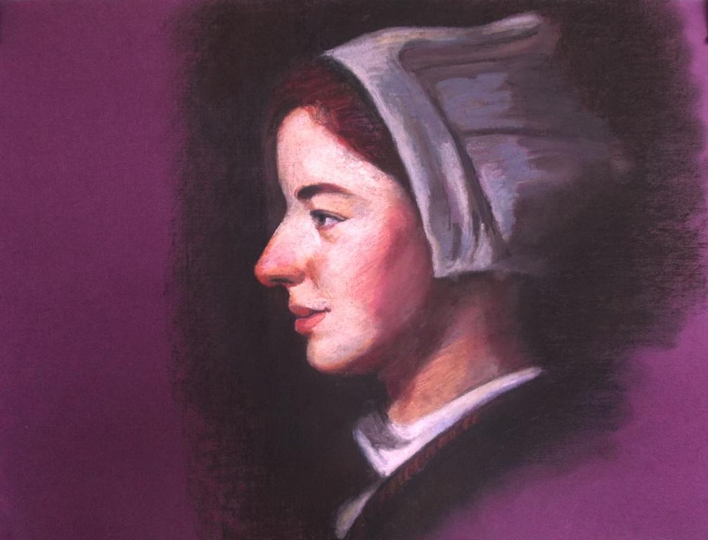 Malkhozov. Henrikyo portrait