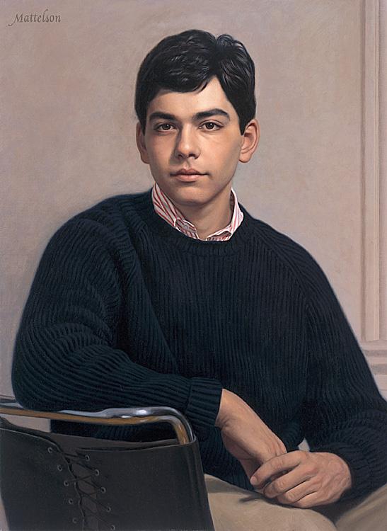 Марвин Маттелсон. Мужской портрет