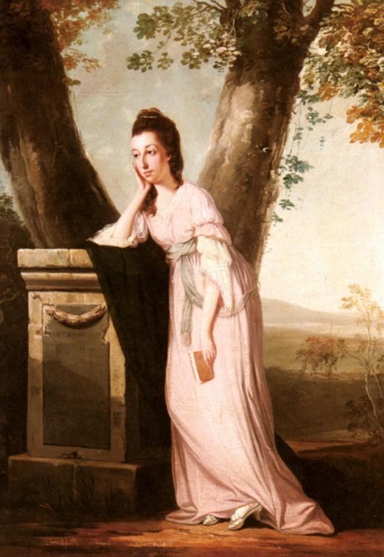 Бенджамин Уилсон. Портрет леди
