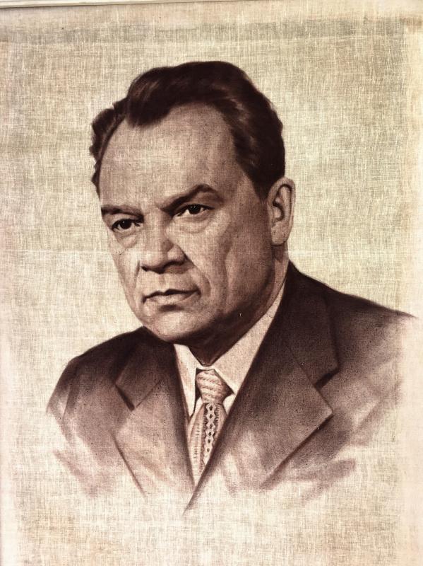 Андрей Михайлович Дубровский. Автопортрет