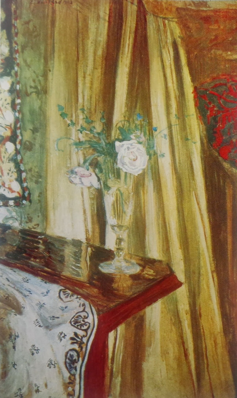 Jean Edouard Vuillard. Still life with flowers