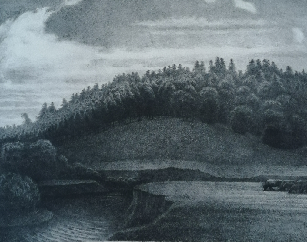 Nikolay Stepanovich Makushkin. Shtirma River