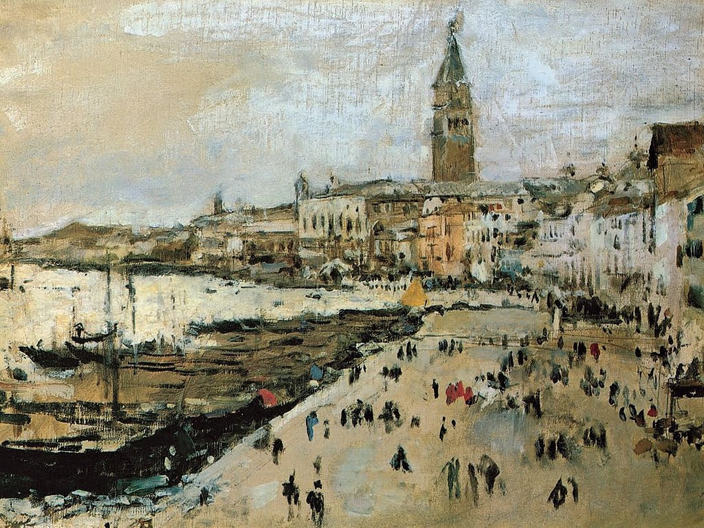 Valentin Serov. The Schiavoni quay in Venice