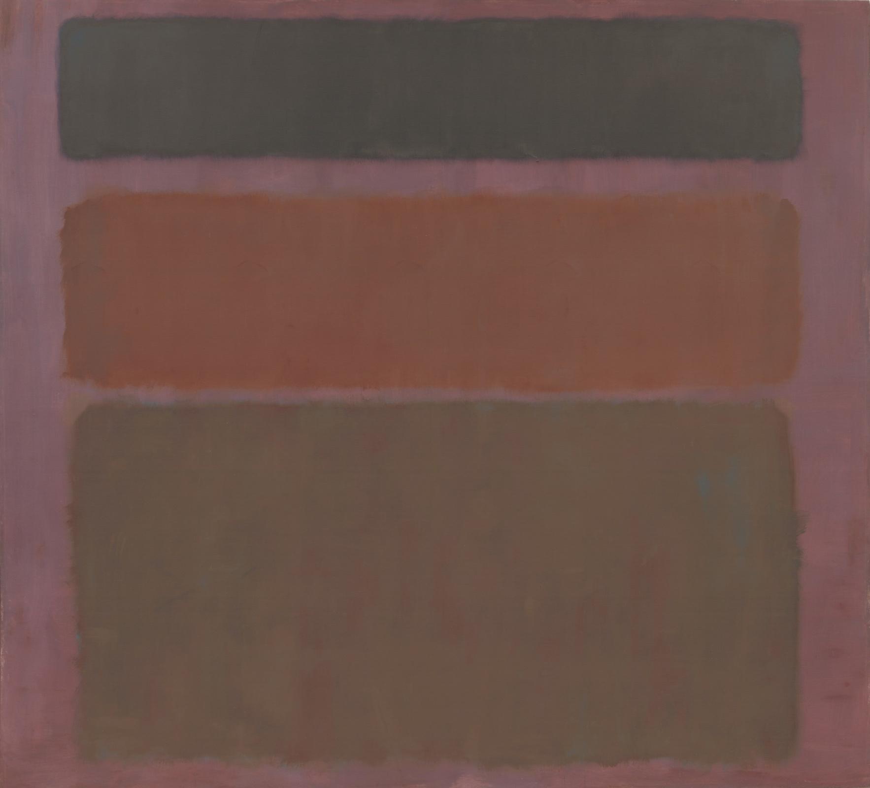 Марк Ротко. № 16 (Красный, коричневый и черный)
