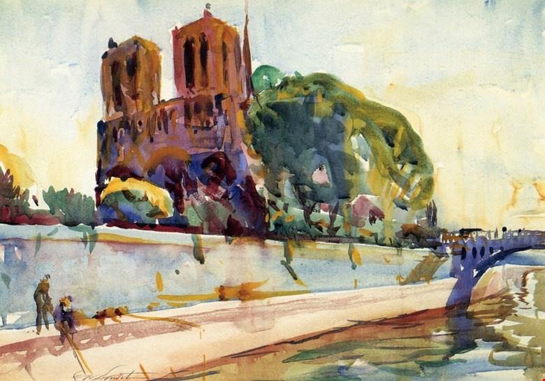 Charles Hawthorne. Notre Dame de Paris