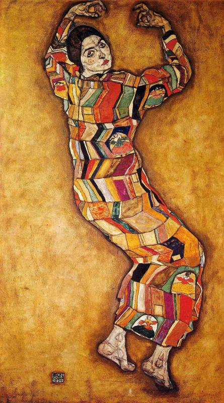 Egon Schiele. Portrait of Frederica Maria Beer