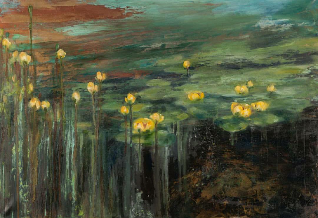 Eugene Lampitskaya. Lampa. River lilies