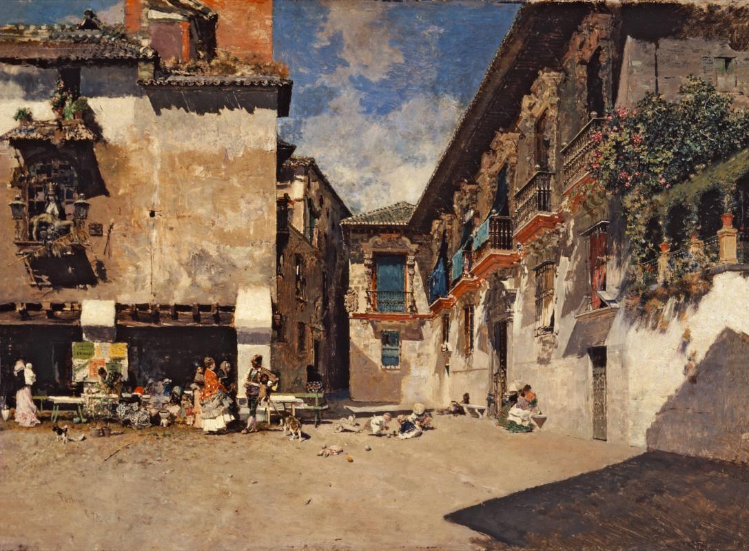 Mariano Fortuny y Marsal. Old city hall of Granada