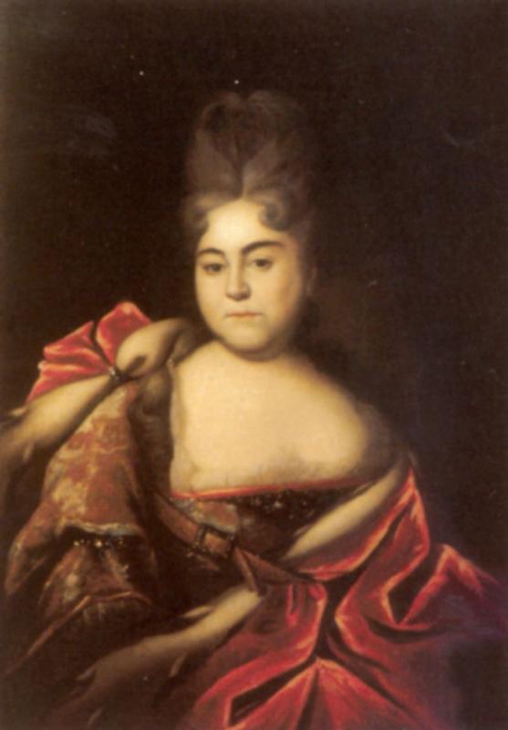 Портрет царевны Натальи Алексеевны