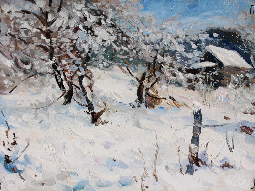 Eugene Buchne. Snow in April