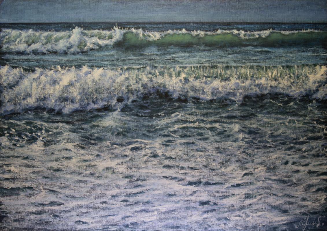 Valery Levchenko. No. 591 Seascape.
