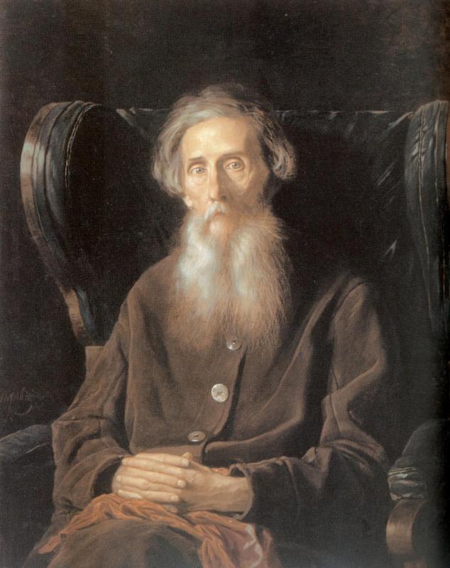 Портрет писателя Владимира Ивановича Даля