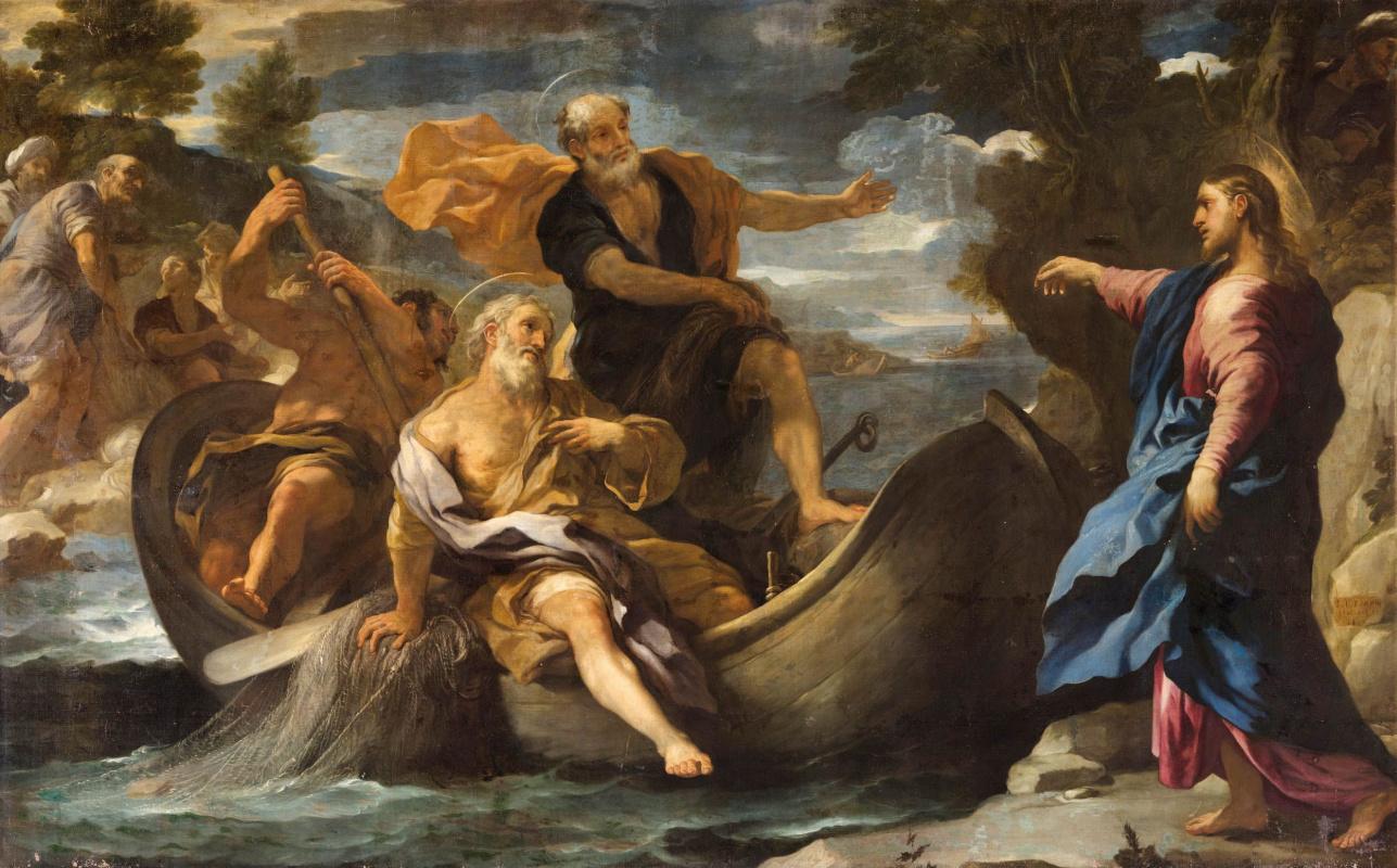 Лука Джордано. Призвание святых Петра и Андрея