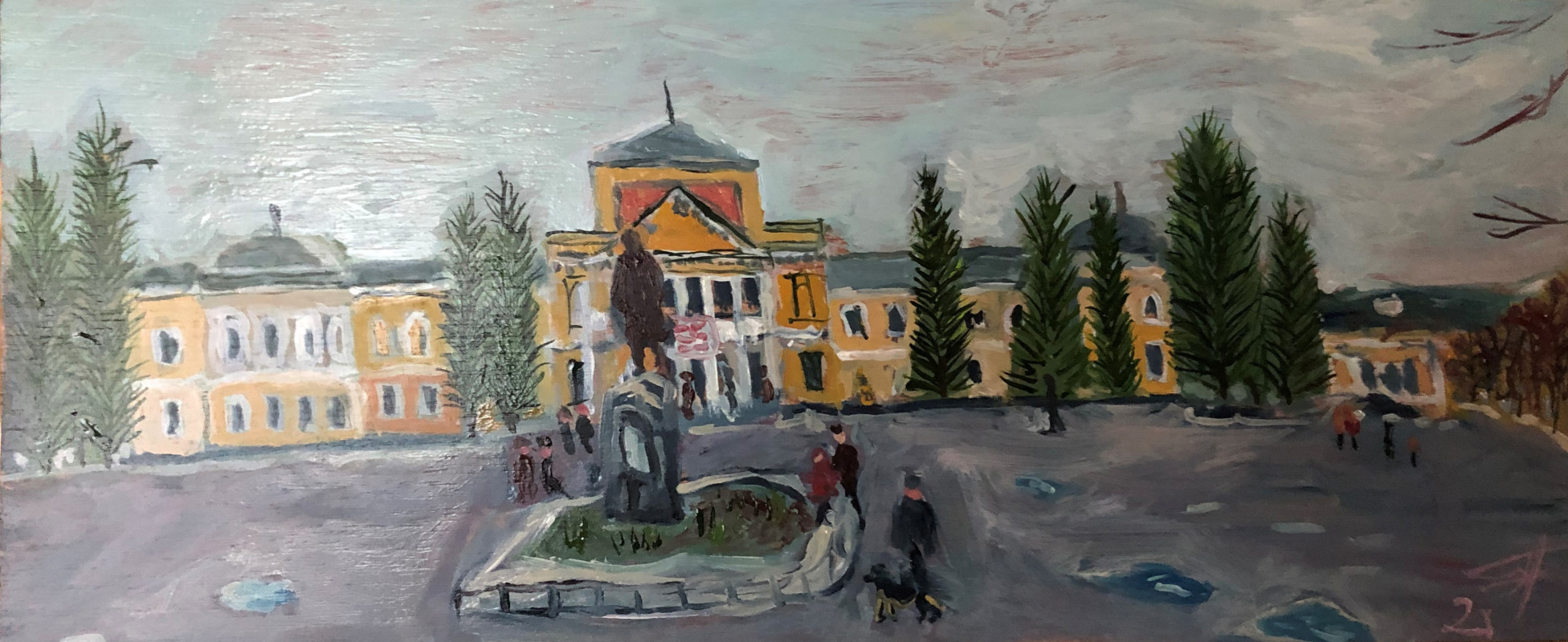 Sergey Vladimirovich Sebini. Pervomaisk. When Leni was still alive.