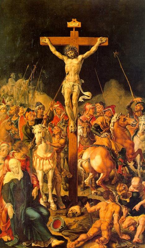 Мартен ван Хемскерк. Распятие Христа