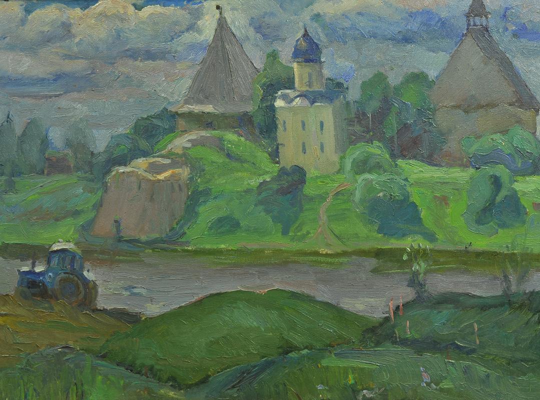 Валерий Иванович Ярош. Blue Ladoga