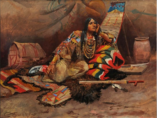 Charles Marion Russell. Kyoma