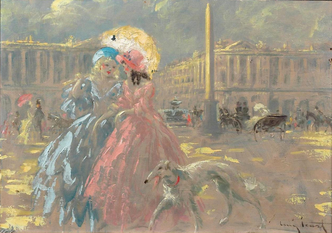 Icarus Louis France 1888 - 1950. Place de la Concorde.