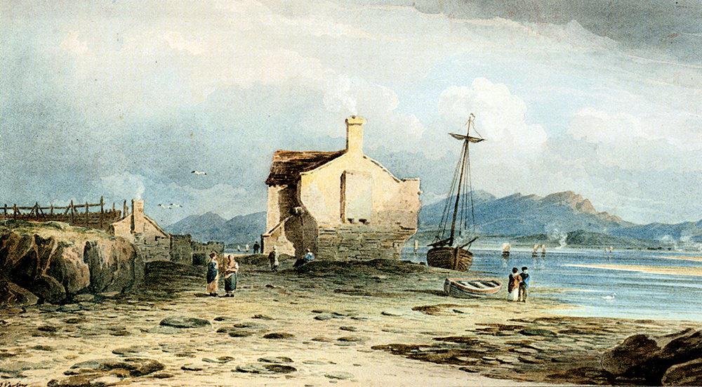 John Varley. Boat on the beach