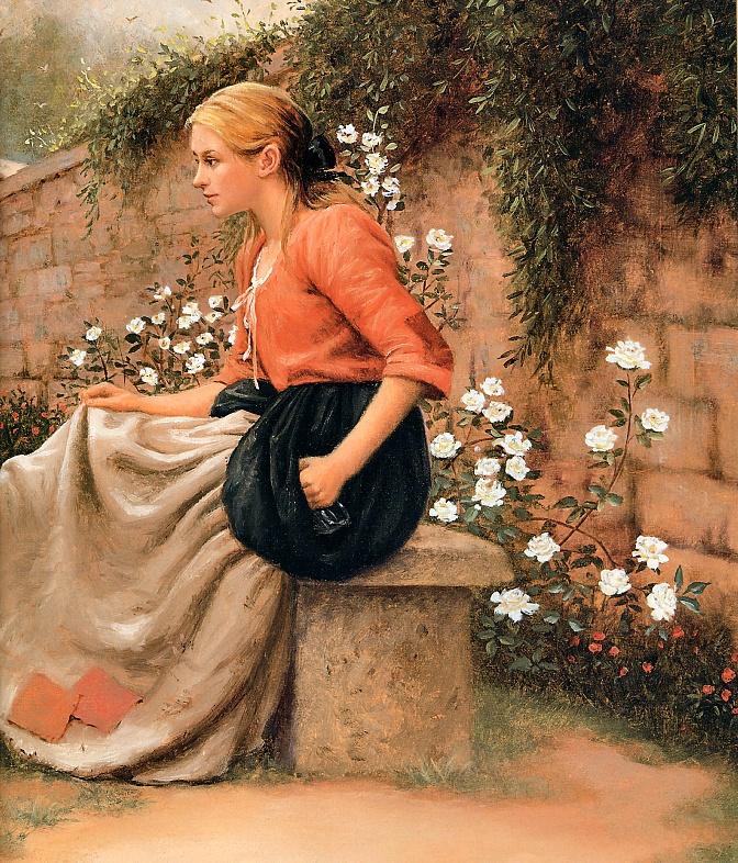 Рут Сандерсон. Белый розы