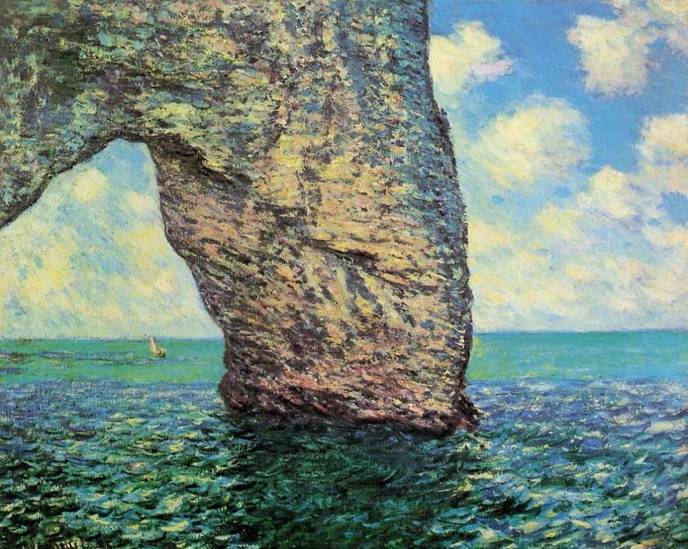 Claude Monet. Manport, tide